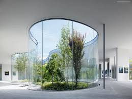 Curved Architecture Amazing Modern Japanese Architecture With Open Up Curved Part