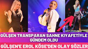 Gülşen'in Transparan Sahne Kıyafeti Olay Oldu - Gülşen'e Tepki Yağdı -  YouTube