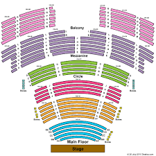 Overture Seating Chart Capitol Theater At Overture Center For The Arts Tickets