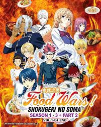 food wars shokugeki no soma season 1 3