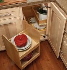 Blind Corner Cabinet Pull Out Shelves Corner Kitchen Cabinet Solutions Lazy Swings And Corner 25