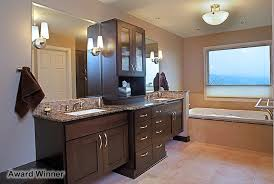 Bathroom Remodeling Bellevue Seattle Chermak Construction Inc Adorable Seattle Bathroom Remodeling Interior