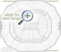 Kfc Yum Center Seat Row Numbers Detailed Seating Chart