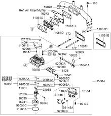 toro parts z master g3 riding mower 60in turbo force carburetor assembly kawasaki fx801v as04
