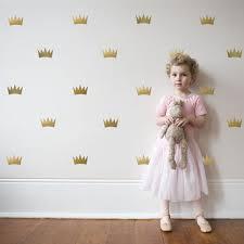 princess wall decals crown wall