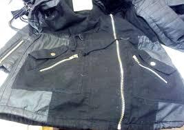 leather repair torn jacket after repair