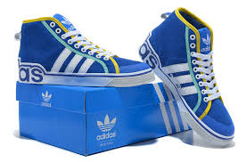 adidas shoes blue and white. find comfortable adidas originals suede high top casual shoes men for 2014 blue white yellow bjbuf9sp and f