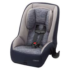 cosco mightyfit 65 dx convertible car seat in heather navy