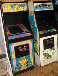Ms Pacman Cabinet Carolina Gaming Company Ms Pacman Galaxian Two Original