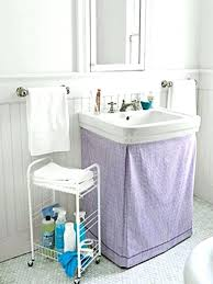 creative pedestal sink storage ideas decorating on a budget australia original bathroom with