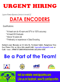 Jobs Hiring Without Resume Data Encoder Job Hiring PinoyJobsph Resume For Study 77