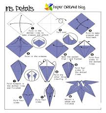 Toilet Paper Origami Flower Instructions Paper Flower Origami Instructions Flower Folding Folding Paper