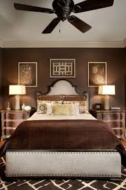brown and best design bedroom. rich chocolate brown encompasses this bedroom, including the linens, rug, nightstands, walls and best design bedroom z