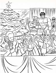 the marvel super heroes coloring book page neato coolville s