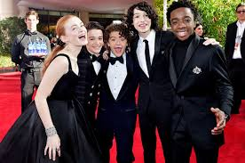 """Stranger Things - Stand By Me [Mike/Dustin/Lucas/Will/Eleven/Max] #4:""""We  just had fun and we just became friends right away, you know?"""" - Gaten  Matarazzo? - Fan Forum"""