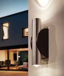 exterior wall washer with led lamps