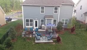 charlotte nc concrete patio and deck