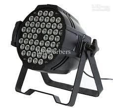2018 54 3w par64 led wash light rgbw par can dmx512 8ch aluminium black s from mintforbers 401 01 dhgate com