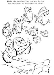 Kleurplaat Finding Nemo 8857 Kleurplaten