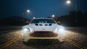 Aston Martin V12 Vantage S Headlight 2560x1440 Wqhd Wallpaper