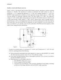Snubber Design Calculator Snubber In The Flyback Converter Manualzz Com