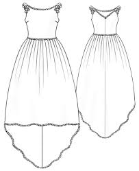 Free Dress Sewing Patterns Fascinating Wedding Dress Sewing Pattern 48 Madetomeasure Sewing Pattern