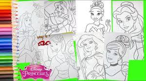 We have lots of princess coloring pages at allkidsnetwork.com. Disney Princess Ariel Cinderella Jasmine Belle Mulan Aurora Compilation Coloring Pages Youtube