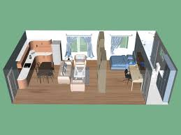 Cool Studio Apartment Layouts - Studio apartment furniture layout