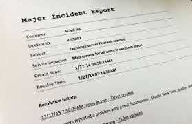 Itil Major Incident Management How To Handle It