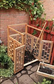create an attractive compost bin