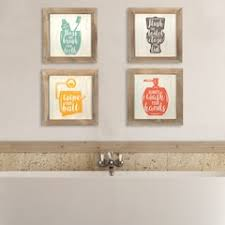 bathroom wall decor pictures. Interesting Wall Stratton Home Decor Bathroom Wall 4piece Set For Pictures I