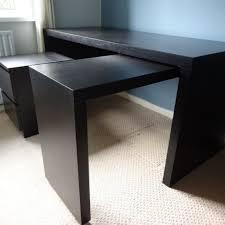 white ikea malm desk review