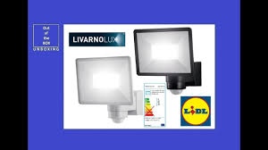 Livarno Lux Led Outdoor Light 30w Lslb 30 A1 Unboxing Lidl 30w