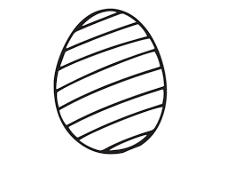 Wonderful Inspiration Blank Easter Egg Coloring Pages Page Com