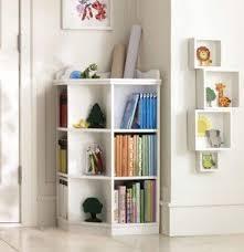 corner shelves furniture.  Shelves Pottery Barn Kids Corner Bookcase Intended Corner Shelves Furniture L