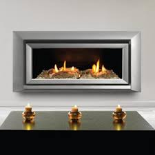 escea st900 indoor propane fireplace silver with with ceramic driftwood and white stones gas log guys