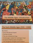 early Middle Ages Introduction
