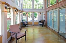 patio flooring choices. stained concrete patio flooring choices h
