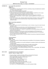 Web Architect Resume Web Architect Resume Samples Velvet Jobs 1