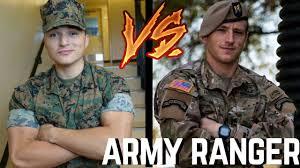 U S Marine Attempts Army Ranger Pft