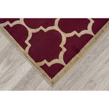 baby nursery mesmerizing ott son paterson contemporary moroccan trellis design dark red area rug fl