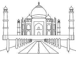 India Coloring Pages Map Colouring Page India Flag Coloring Pages