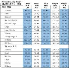 Cn Size Chart Faq Scubapro Wetsuit Size Chart Big Blue Scuba Diving