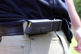 Concealed Magazine Holder