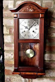 chiming wall clocks vintage lincoln 31 day wall clock with chimes gustav becker antique wall clocks chiming wall clocks