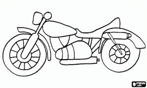 Small Picture Classic road motorcycle coloring page Hudsons Party Pinterest
