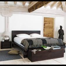 Maison Bedroom Furniture Letto Esotico 160 X 200 Cm In Massello Di Mango Java Maisons Du