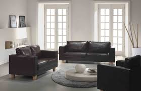 Mission Living Room Set Mission Box Sofa 3 2 1 Seater Black Or Brown Brixton Beds