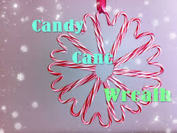 Clinker Truffles  Recipe  The Ou0027jays Candy Cane Wreath And CandyCandy Cane Wreath Christmas Craft