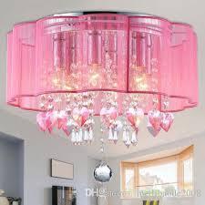 2018 modern drum pendant light shade crystal ceiling lamp chandelier fixture lighting from meilibaode2008 266 34 dhgate com